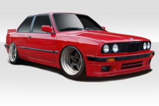1984-1991 BMW 3 Series E30 Duraflex TKO Wide Body Kit - 6 Piece