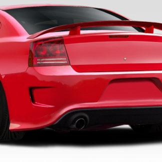 2006-2010 Dodge Charger Duraflex Hellcat Look Rear Bumper - 1 Piece