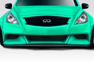 2008-2015 Infiniti G Coupe G37 Q60 Duraflex LBW Front Splitter - 1 Piece