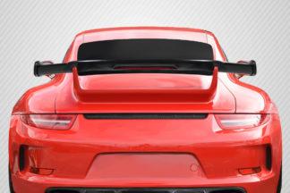 2012-2015 Porsche 911 Carrera 991 Carbon Creations DriTech GT3 Look Wing ( includes brake light ) - 1 Piece