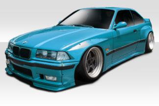 1992-1998 BMW 3 Series M3 E36 2DR Duraflex Circuit Wide Body Kit - 12 Piece