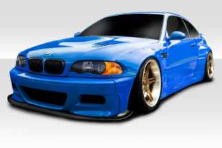 2001-2006 BMW M3 E46 Duraflex Circuit Wide Body Kit - 10 Piece