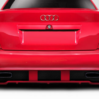 1996-2001 Audi A4 S4 B5 4DR Duraflex Version 1 Rear Bumper - 1 Piece