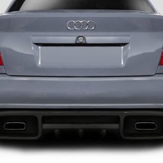 1996-2001 Audi A4 S4 B5 4DR Duraflex Version 2 Rear Bumper - 1 Piece