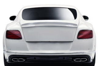 2012-2017 Bentley Continental GT Coupe V8 AF-1 Trunk Wing Spoiler - 1 Piece ( GFK )