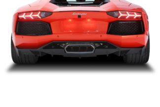 2011-2017 Lamborghini Aventador AF-1 Diffuser - 1 Piece ( GFK )