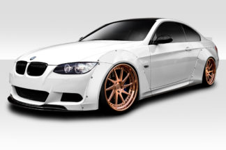 2007-2013 BMW 3 Series E92 2dr E93 Convertible Duraflex Circuit Wide Body Front Kit - 8 Piece ( fits all models except M3 )