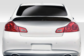 2007-2013 Infiniti G Sedan G25 G35 G37 / Q40 Duraflex D-Speed Wing Spoiler - 1 Piece