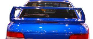 1993-2001 Subaru Impreza 4DR Duraflex STI Look Wing Trunk Lid Spoiler - 1 Piece