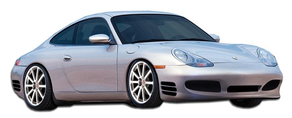 1997 2004 Porsche Boxster 986 Duraflex Turbo Look Body Kit 4 Piece