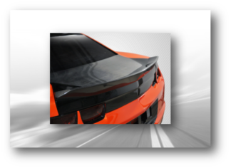 Extreme Dimensions Rear Spoilers - Wings
