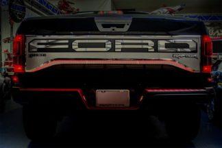 ACC Red Illuminated Tailgate Insert F50 Raptor