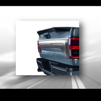 Satin Chrome Tailgate Applique Covers