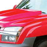 2002-2006 Chevrolet Avalanche (with body cladding) Duraflex Cowl Hood - 1 Piece