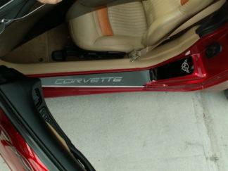 Doorsills Etched GM LICENSED Polished 2pc |1997-2004 Chevrolet Corvette