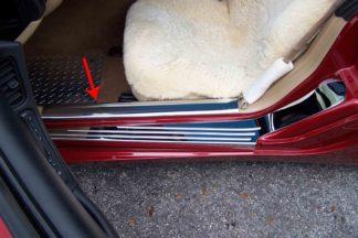 Doorsills Inner Polished 2pc |1997-2004 Chevrolet Corvette