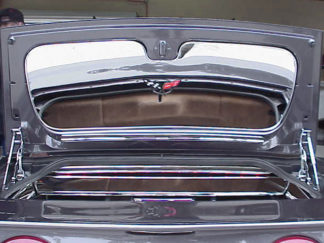 Trunk Lid Polished Convertible |1998-2004 Chevrolet Corvette