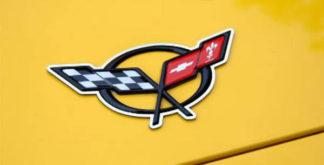 Emblem Trim Polished Convertible Waterfall |1998-2004 Chevrolet Corvette