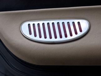 Door Panel Light Reflector Covers Polished 2pc |1997-2004 Chevrolet Corvette