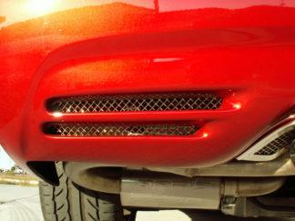 Vent Grilles Laser Mesh Rear Bumper  2pc |1997-2004 Chevrolet Corvette