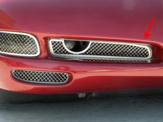 Grille Laser Mesh Fog Light  2pc |1997-2004 Chevrolet Corvette