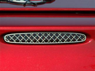 5th Brake Light Trim Laser Mesh  1997-2004 Chevrolet Corvette