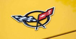 Emblem Trim Polished 2pc |1997-2004 Chevrolet Corvette
