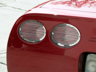 Taillight Grilles Polished Billet 4pc *5th Brake Light NOT Included* |1997-2004 Chevrolet Corvette