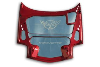 Hood Accent Kit Polished 3pc |1997-2004 Chevrolet Corvette