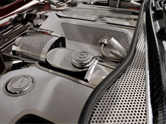 Wiper Cowl Perforated 2pc |1997-2004 Chevrolet Corvette