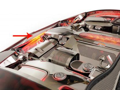 Nose Cap Perforated Lit |1997-2004 Chevrolet Corvette