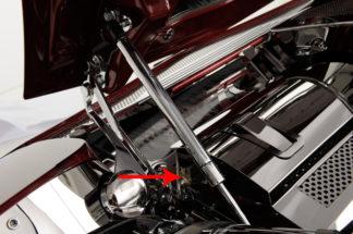 Radiator Cover Polished End Caps |1997-2004 Chevrolet Corvette