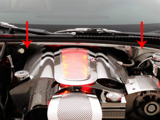 Firewall Satin 2pc |1997-2004 Chevrolet Corvette