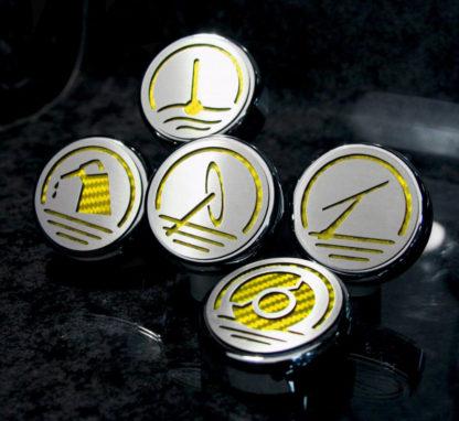 Cap Cover Set Executive Series Automatic 5pc |1997-2007 Chevrolet Corvette