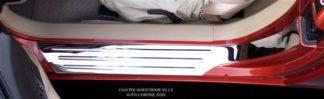Doorsills Polished Outer w/Chrome Ribs |2005-2013 Chevrolet Corvette