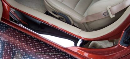Doorsills Polished Outer Plain No Ribs |2005-2013 Chevrolet Corvette