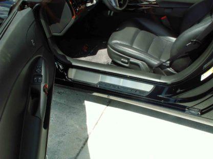 Doorsills Satin Outer Stock Pad Inserts |2005-2007 Chevrolet Corvette