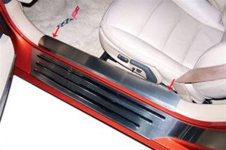 Doorsills Satin Inner |2005-2013 Chevrolet Corvette