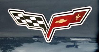 Emblem Ring Polished Convertible Waterfall |2005-2013 Chevrolet Corvette