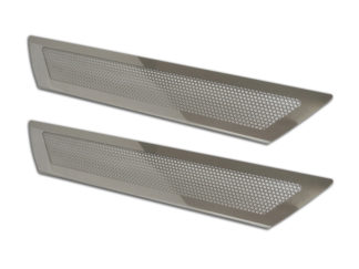 Doorsills Polished Perforated Stock |2005-2013 Chevrolet Corvette
