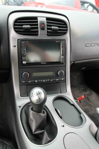 Dash Kit Satin 9pc |2005-2013 Chevrolet Corvette
