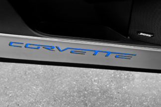 Door Guards Corvette Style Satin 2pc |2005-2013 Chevrolet Corvette