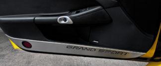 Door Guards Grand Sport Style Satin 2pc |2005-2013 Chevrolet Corvette