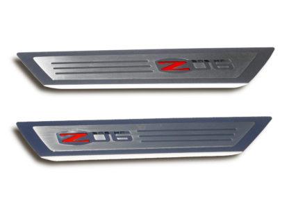 Doorsills Executive/Inlayed Z06 Style GML  2005-2013 Chevrolet Corvette