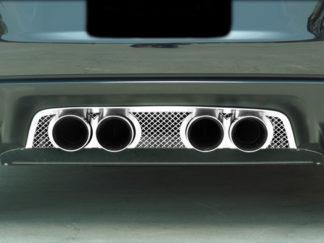 Exhaust Filler Panel NPP Exhaust Laser Mesh |2005-2013 Chevrolet Corvette