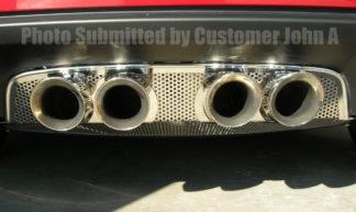 Exhaust Filler Panel Corsa 3.5 Perforated |2005-2013 Chevrolet Corvette