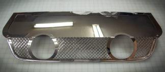 Exhaust Filler Panel Corsa 4.0 Dual 2 Tip Laser Mesh |2005-2013 Chevrolet Corvette