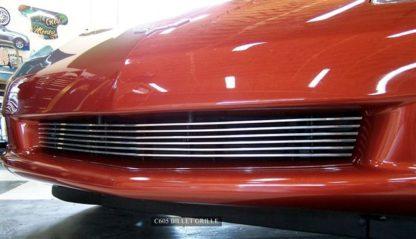 Grille Polished Billet Aluminum Front C6 |2005-2013 Chevrolet Corvette