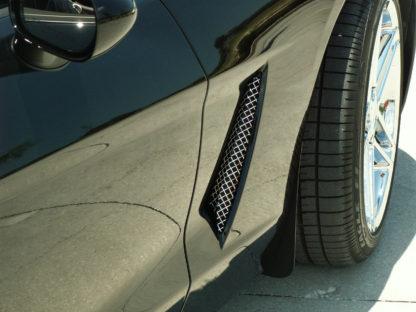 Vent Grilles Laser Mesh Side 2pc C6 |2005-2013 Chevrolet Corvette