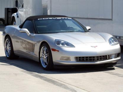 Driving Light Covers Polished Billet Style C6  2005-2013 Chevrolet Corvette
